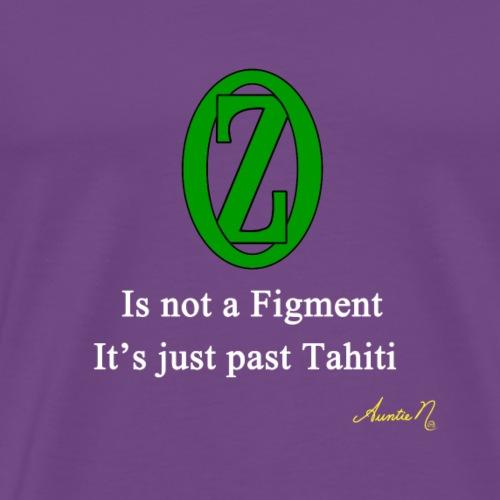 0136w Not a figment - Men's Premium T-Shirt
