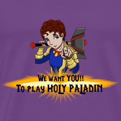 Jamie the Holy Paladin - Men's Premium T-Shirt
