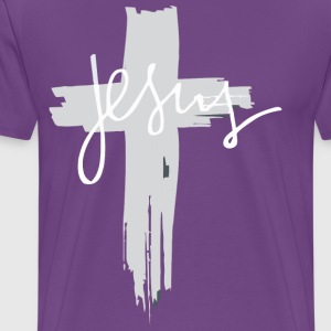 Jesus Cross T-Shirt |Christianity T-Shirts - Men's Premium T-Shirt