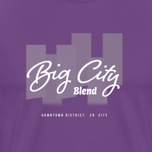 Big City Blend Logo - Men's Premium T-Shirt