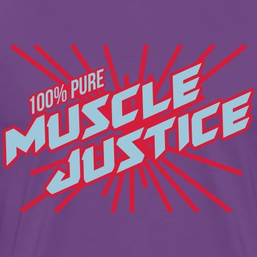 MUSCLE JUSTICE - Men's Premium T-Shirt