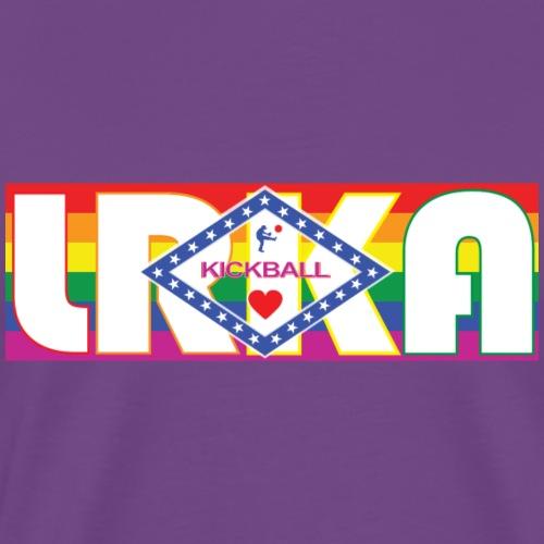 AR FLAG LRKA PRIDE - Men's Premium T-Shirt