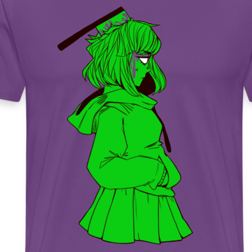 The Girl with the Cleaver - Men's Premium T-Shirt