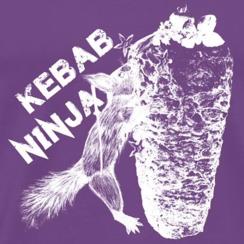 Kebab squirrel Ninja - Men's Premium T-Shirt