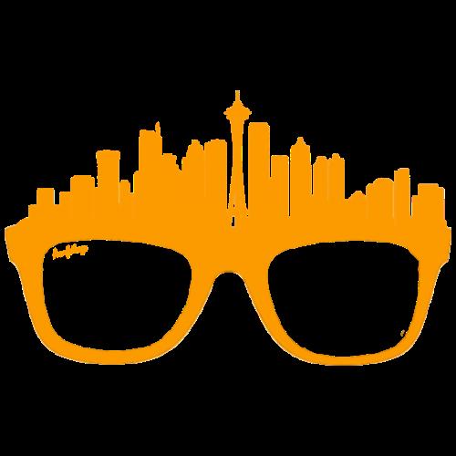 Glasses Seattle - Men's Premium T-Shirt