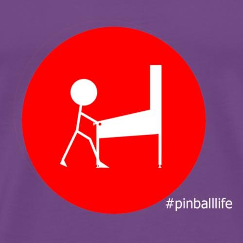 Simple Pinball Life - Men's Premium T-Shirt