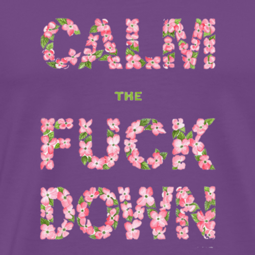 calm the fish down - Men's Premium T-Shirt