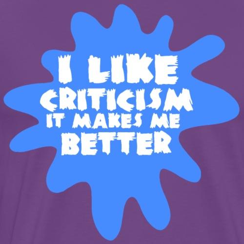 Critic white - Men's Premium T-Shirt