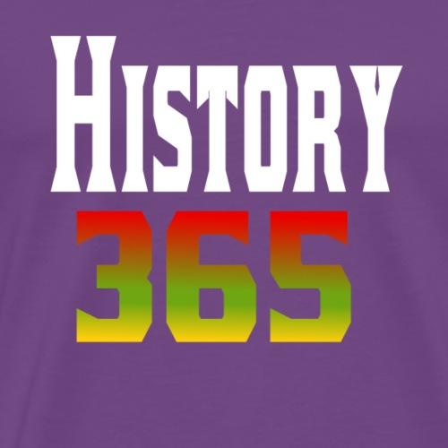 Black History 365 - Men's Premium T-Shirt