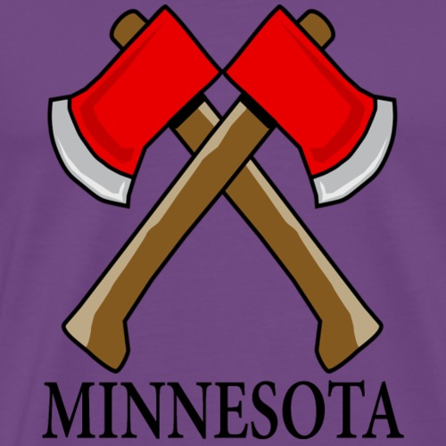 Hatchet Minnesota - Men's Premium T-Shirt