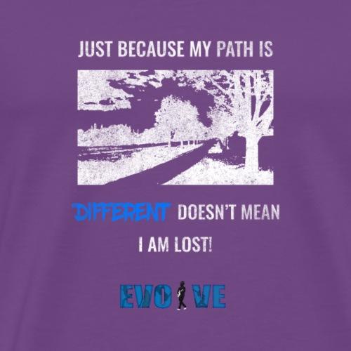 different path shirt - Men's Premium T-Shirt