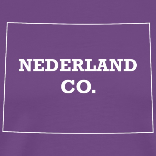 Nederland, Colorado - Men's Premium T-Shirt