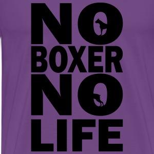 No Boxer No Life - Men's Premium T-Shirt
