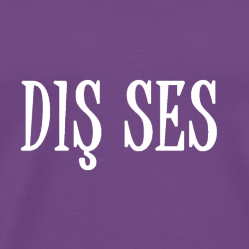 dis ses - Men's Premium T-Shirt