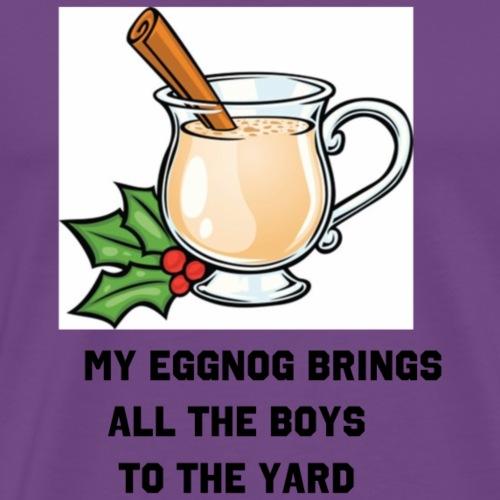 Eggnog Milkshake - Men's Premium T-Shirt