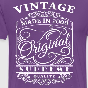 Vintage Made in 2000 Original - Men's Premium T-Shirt