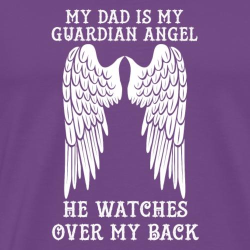 My Dad is My Guardian Angel - Men's Premium T-Shirt