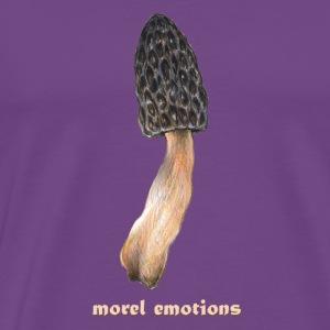 Morel emotions / mushroom / morchella / morel - Men's Premium T-Shirt