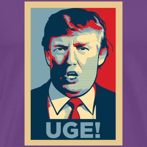 Donald Trump Uge - Men's Premium T-Shirt