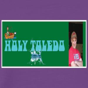 holy toledo enlarged - Men's Premium T-Shirt