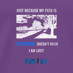 different path shirt - Men's Premium T-Shirt