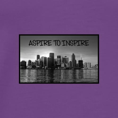 Aspire to Insipre - Men's Premium T-Shirt