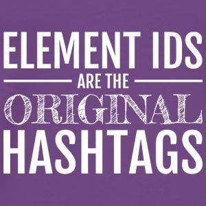 The Original Hashtags (Light) - Men's Premium T-Shirt