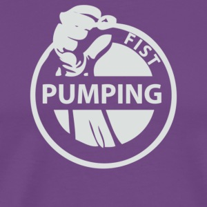Fist Pumping - Men's Premium T-Shirt