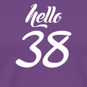 Hello 38 - Men's Premium T-Shirt