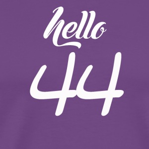 Hello 44 - Men's Premium T-Shirt