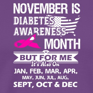 Diabetes Awareness Month Shirt - Men's Premium T-Shirt