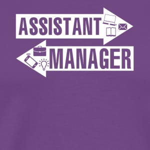 Assistant Manager Shirt - Men's Premium T-Shirt