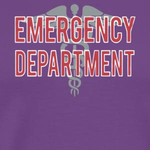 Emergency Department T Shirt - Men's Premium T-Shirt