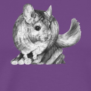 chinchilla tee & hoodie - Men's Premium T-Shirt