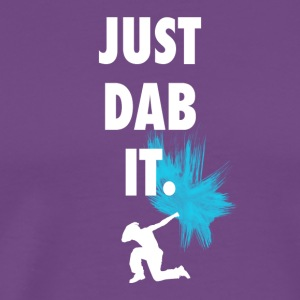 just dab it DAB panda dabbing football touchdown l - Men's Premium T-Shirt