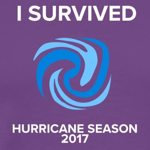 I Survived Hurricane Season 2017 - Men's Premium T-Shirt