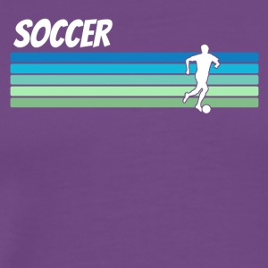 Retro Soccer - Men's Premium T-Shirt
