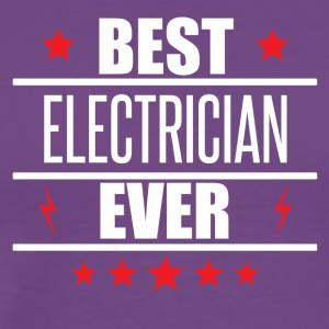 Best Electrician Ever - Men's Premium T-Shirt
