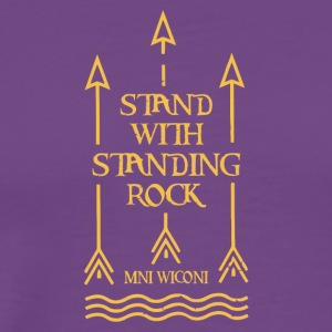 Stand With Standing Rock Official Shailene Woodley - Men's Premium T-Shirt