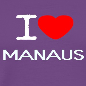 I LOVE MANAUS - Men's Premium T-Shirt