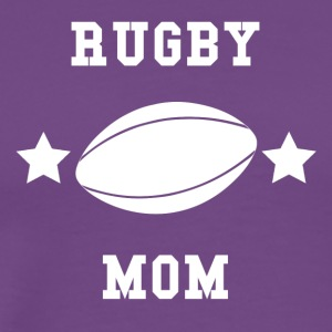 Rugby Mom - Men's Premium T-Shirt