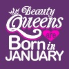 Beauty Queens Born in January - Men's Premium T-Shirt