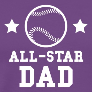 All Star Baseball Dad - Men's Premium T-Shirt
