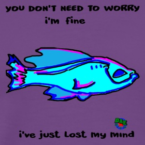 Just Fine Fish - Men's Premium T-Shirt
