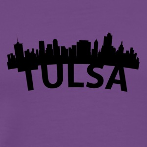 Arc Skyline Of Tulsa OK - Men's Premium T-Shirt