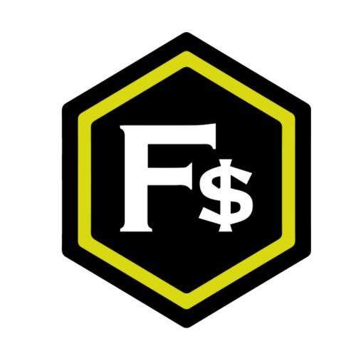F$ - Yellow - Men's Premium T-Shirt