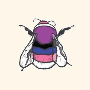 Genderfluid Bee - Men's Premium T-Shirt