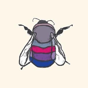 Bisexual Bee - Men's Premium T-Shirt