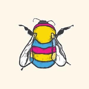 Pansexual Bee - Men's Premium T-Shirt