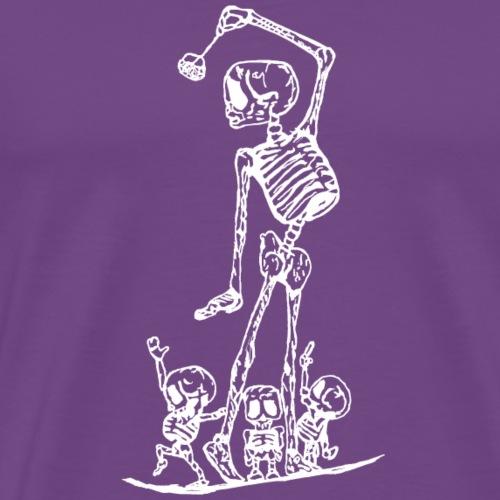 Los Tres Monos White - Men's Premium T-Shirt